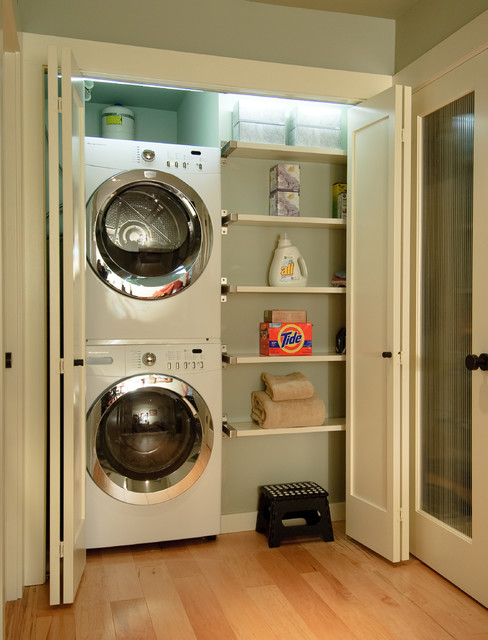 Extreme Makeovertransitional Laundry Room Seattle