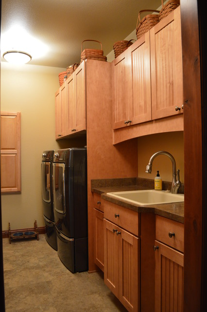 Fall Haven - farmhouse - laundry room - denver - by Castle