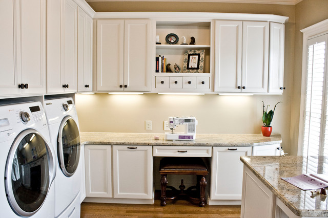 Family Craft/Laundry Room - Traditional - Laundry Room - Other - by Frenchs Cabinet Gallery llc