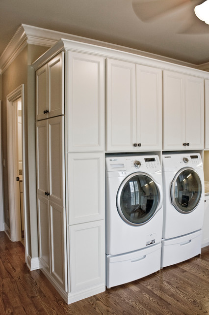 Family Craft/Laundry Room - Traditional - Laundry Room ...