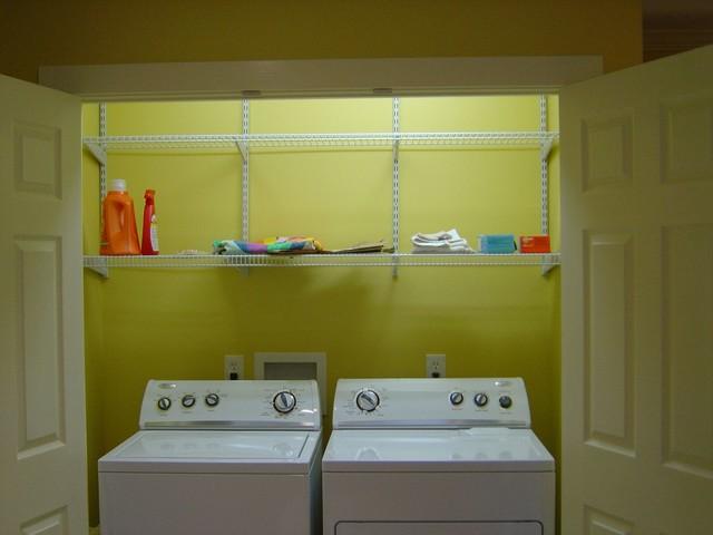 Fleur De Lis Kitchen Traditional Laundry Room