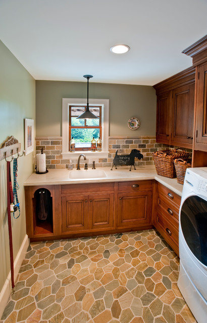 French Country Inspired Charmer Farmhouse Laundry Room