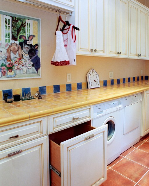 French Country Style Laundry Room