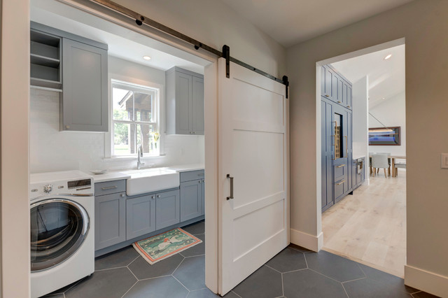 Full Home Remodel Country Laundry