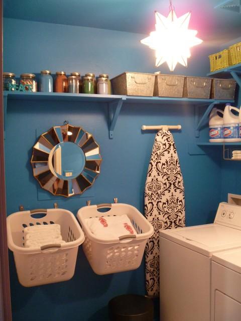Fun Small E Laundry Room Phoenix