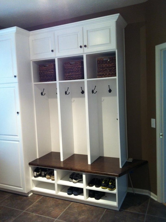 Storage Locker Laundry Room Design Ideas, Pictures, Remodel and Decor