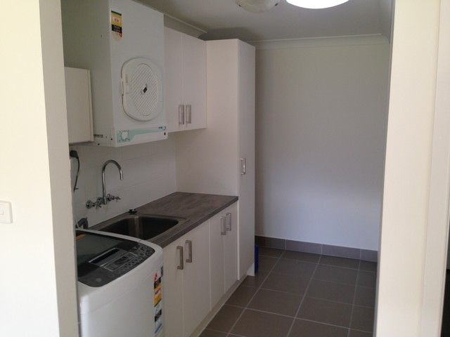 Garage extension rockhampton modern laundry room for Laundry room renovation