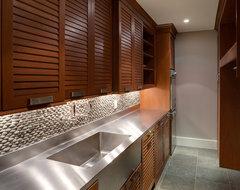 Georgetown Development contemporary-laundry-room