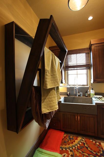 Golden Oak - Lot 66 contemporary-laundry-room