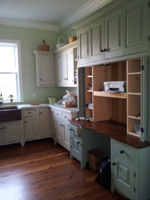 Inspiration for a timeless laundry room remodel in St Louis
