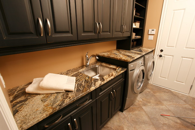 Countertop Options For Laundry Room : The Laundry Room Countertop Below Was Also Built Using Re Purposed ...