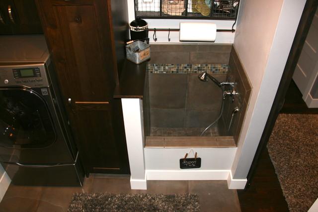 Gray House 2013, Triton Homes traditional-laundry-room