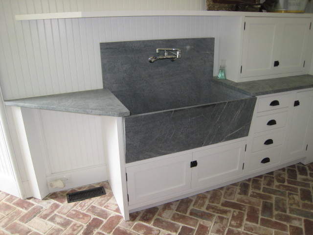 Granite Laundry Sink : Great Spaces - Traditional - Laundry Room - philadelphia - by D&B ...