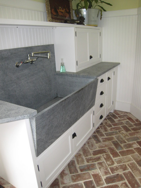Is That A Vermont Soapstone Sink?? It's Beautiful!! Carolyn