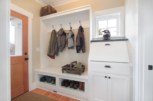 Greenlake Residence Mud Room Craftsman Laundry Room