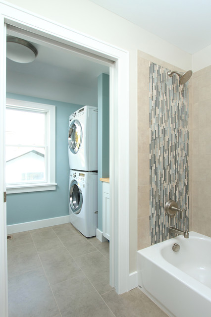 Laundry Room Bathroom Combo Small Washer And Dryer
