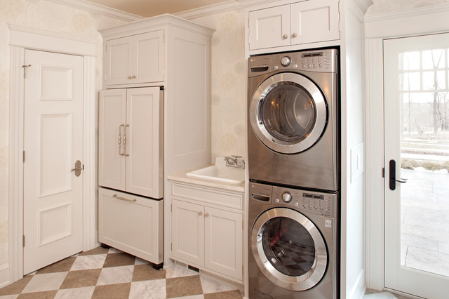 Stackable Washer And Dryer Laundry Room Ideas
