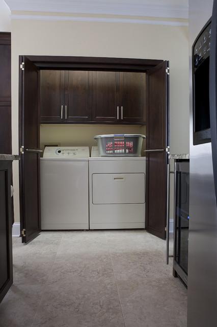 Hanson Kitchen contemporary-laundry-room