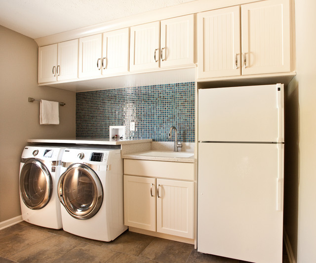Hawthorne Drive Whole House Remodeltraditional Laundry Room Indianapolis