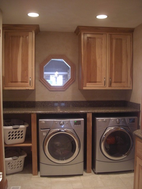 Hickory Hub Traditional Laundry Room Chicago By West Side Lumber Ace Kitchen Bath
