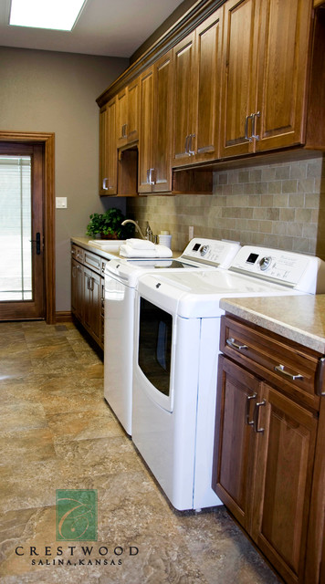 New Construction traditional-laundry-room