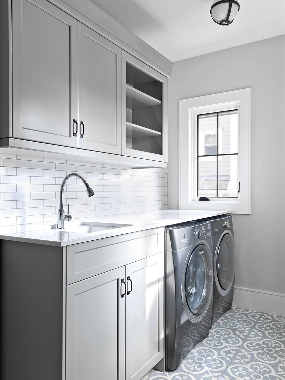 Grey Laundry Room Ideas Photos Houzz