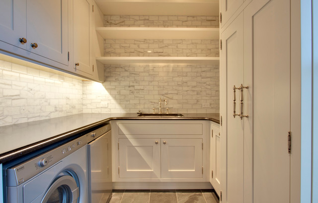 Historic colbourne traditional laundry room calgary by empire kitchen bath - Empire kitchen and bath ...