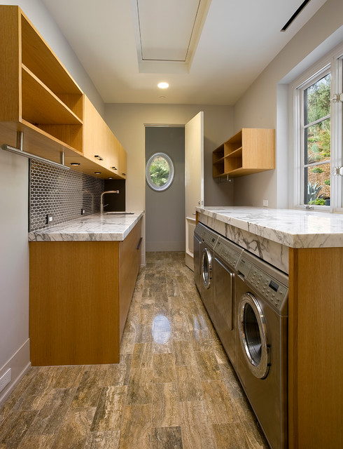 Hollywood Regency, Montecito - Contemporary - Laundry Room - Other - by Maienza - Wilson ...