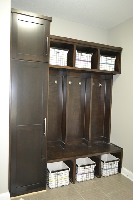 Hollywood Woodshop Locker Systems laundry-room