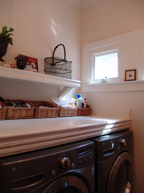 Home Renovation and Addition in Decatur traditional-laundry-room