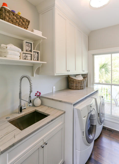 HWC Folly Kitchen - Traditional - Laundry Room - San Francisco - by Matthew Bolt Graphic Design