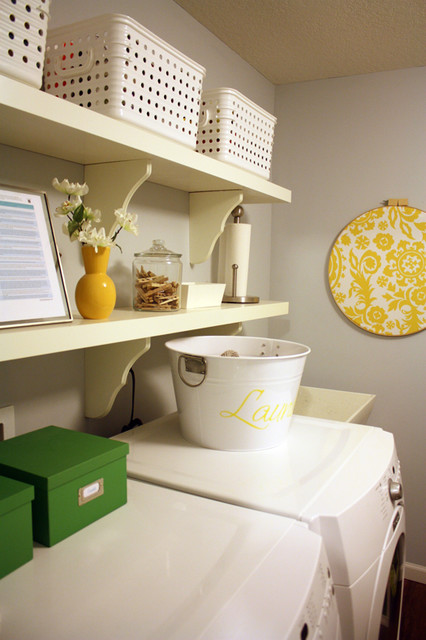 I heart organizing eclectic-laundry-room
