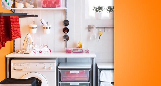 IKEA- Laundry contemporary-laundry-room