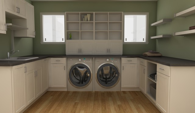 ikea laundry rooms classique buanderie miami par. Black Bedroom Furniture Sets. Home Design Ideas