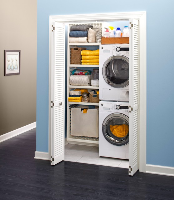 indoor spaces - transitional - laundry room - charlotte -lowe's