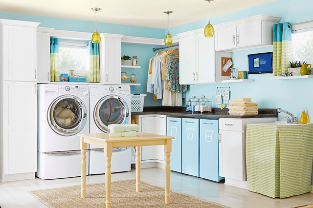 Indoor Spaces - Transitional - Laundry Room - Charlotte - by Lowe's Home Improvement