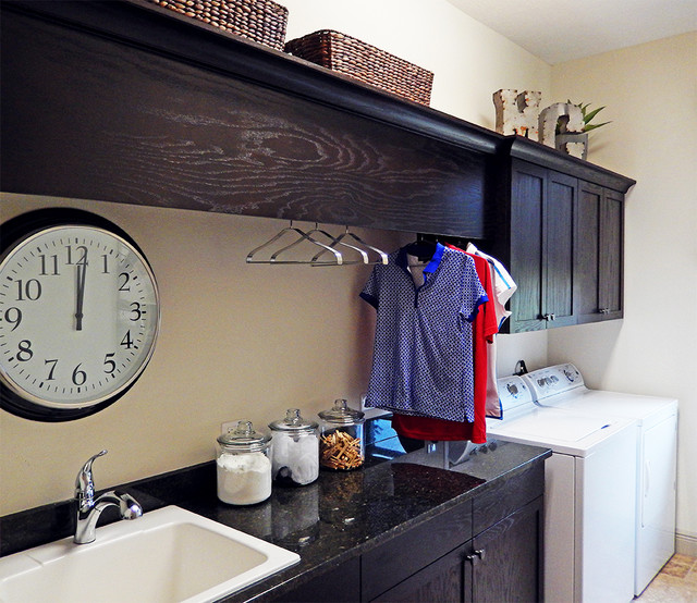Interesting Interior Design Features of Model Homes - Modern - Laundry Room - Tampa - by Arthur ...