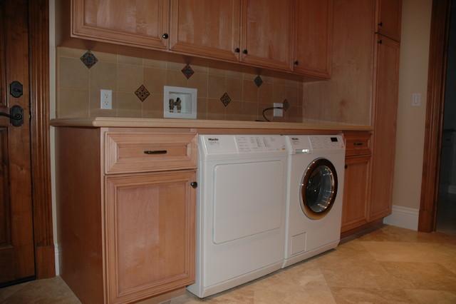 Interior remodel 2 traditional laundry room orange for Boro kitchen cabinets inc