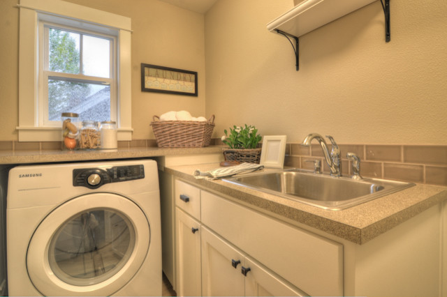 Irvington traditional-laundry-room