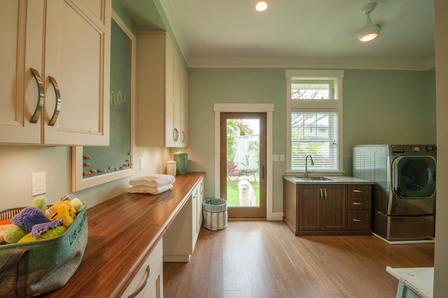 Island tranquility transitional laundry room hawaii for Archipelago hawaii luxury home designs