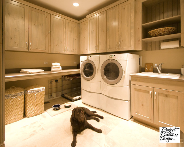 It's a Dog's Life - Traditional - Laundry Room - Chicago - by Project Partners Design