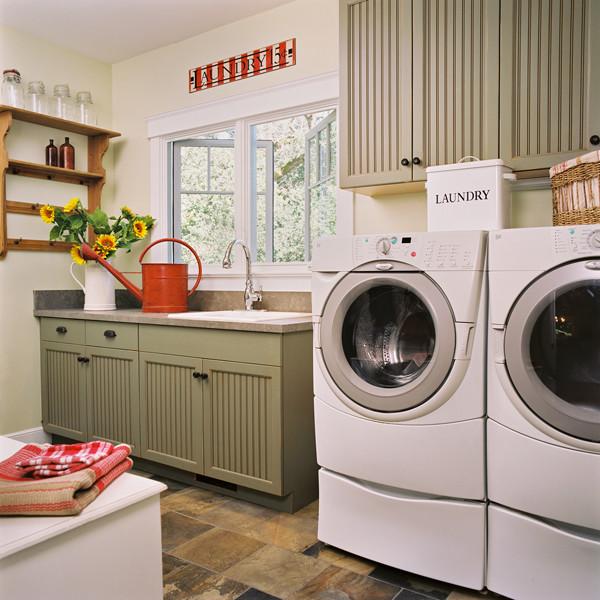 Jane Ellison traditional-laundry-room