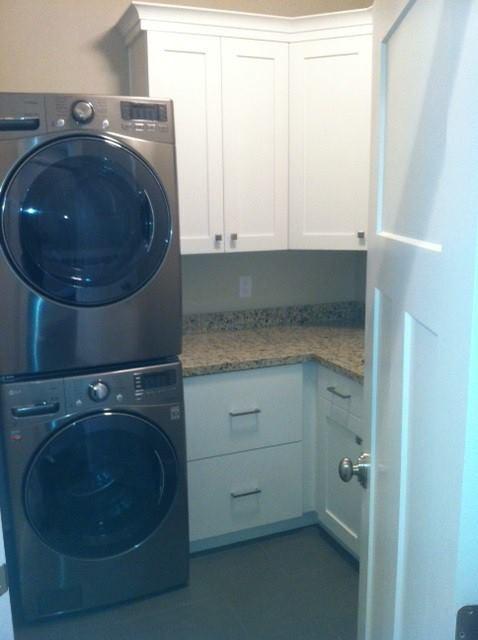 Jensen Residence traditional-laundry-room