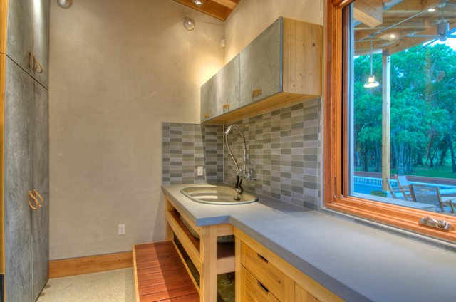 Josh Wynne Construction modern-laundry-room