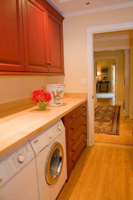 Kathleen Burke Design contemporary laundry room