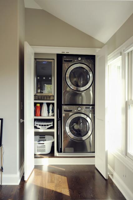 Ketron Custom Builders contemporary-laundry-room