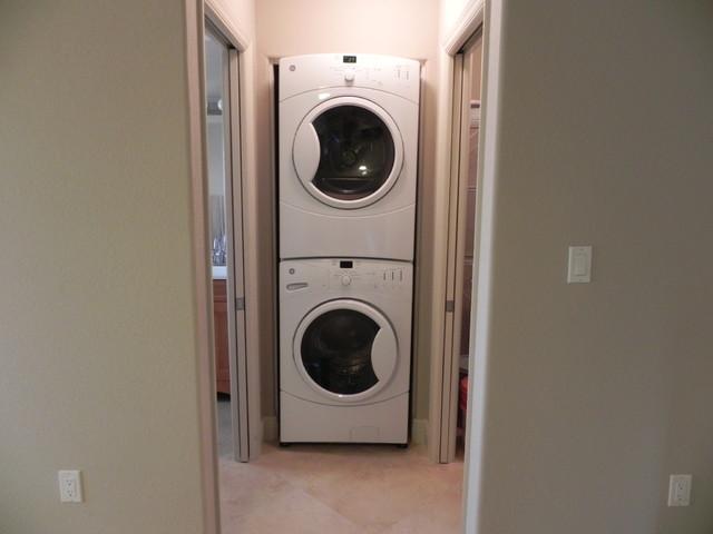Key Colony Beach Duplex Remodel beach-style-laundry-room