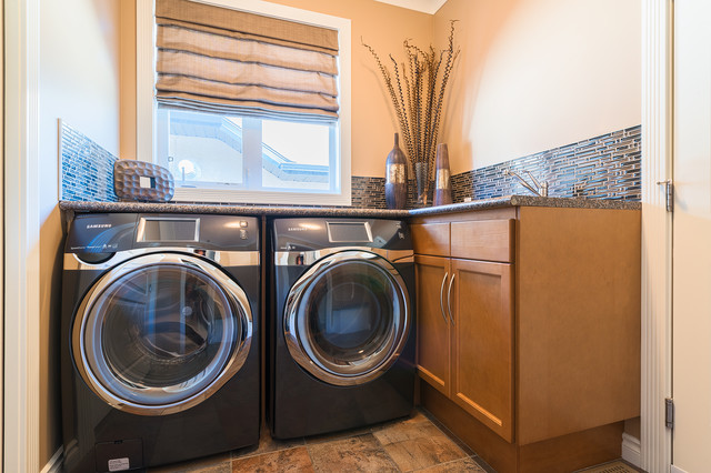 Bult Main Floor Eclectic Laundry Room Other Metro