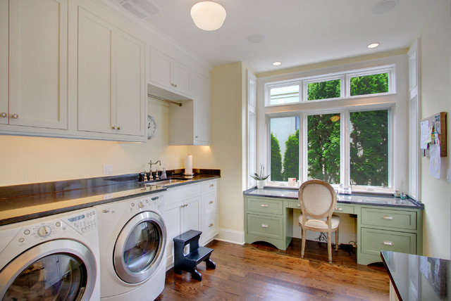 Kirkland Tanditional traditional laundry room