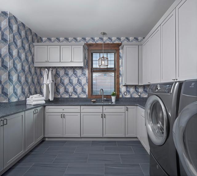 Ksi Designer Jim Mcveigh Rustic Laundry Room